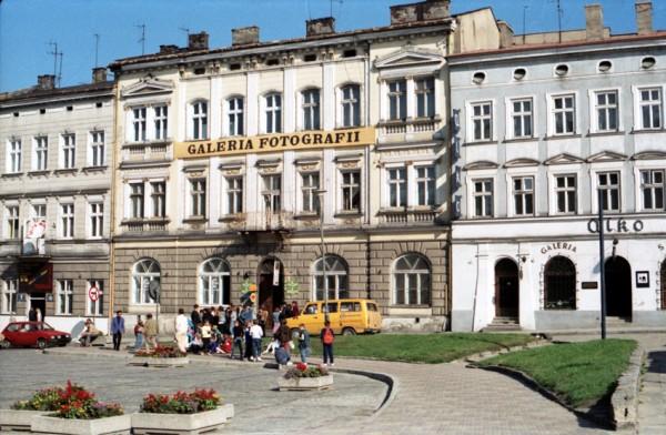 Pierwsza lokalizacja Galerii Fotografii w 1992 r