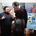10_Goście z Niemiec podczas wernisażu wystawy Rzeszów - miasto w południowo-wschodniej Polsce 28 kwiecień 1993 r