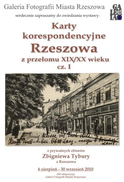 Karty korespondencyjne Rzeszowa