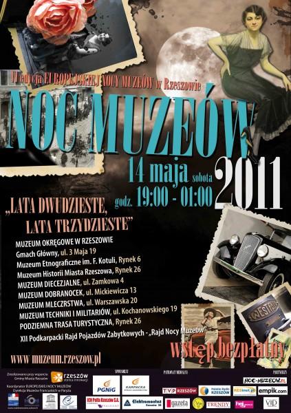 muzeum - noc muzeow plakat